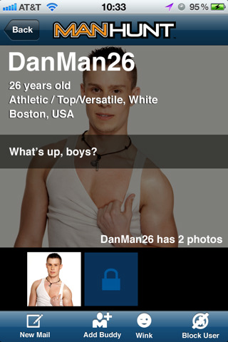Manhunt App Screenshot